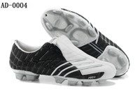 Wholesale Men s Soccer Shoes Blown K leather F50 FG Football Boots Suede Synthetic lining Sports Shoes
