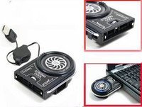 Wholesale New Mini Vacuum USB Case Cooler Cooling Fan For Notebook Laptop