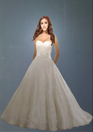 Wholesale 2012 European And American High End Wedding Sweetheart Applique Bow Bride Ball Gown Wedding Dresses