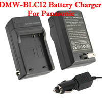 Wholesale DMW BLC12 Battery Charger For Panasonic Black