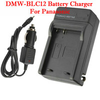Wholesale Digital Battery Charger For Panasonic DMW BLC12 Black