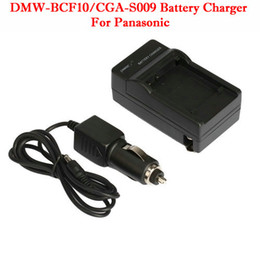 Wholesale Battery Charger For Panasonic DMW BCF10 CGA S009 Black Brand New