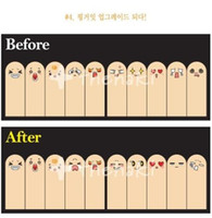Wholesale 20set pages Pages Cute Ten Fingers Sticker Post It Bookmark Flags Memo Sticky Notes Pads
