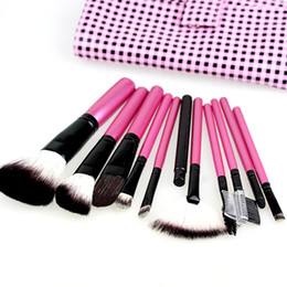 Wholesale Pink Makeup Brushes Nylon Makeup Brushes amp Tools Cosmetic Brush sets Face Brush makeup Brush Kit