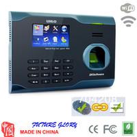 Wholesale car zksoftware U160 biometric fingerprint time attendance time recorder time clock wifi we