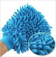 Wholesale Min order mix order Snow Neil fiber double coral type high density wash mitt it
