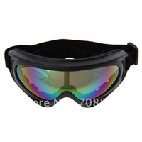 Wholesale Free Shiping UV Protection Super Sports Ski Snowboard Skate Goggles Glasses Colorful Lens