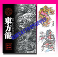 A3 size 60PAGE  East Dragon Tattoo Flash A3 60page TATTOO BOOK high quality tattoo books Free shipping