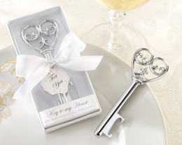 Wedding favors and Gifts Simply Elegant Key To My Heart Wedding Bottle Opener Favor 15pcs lot