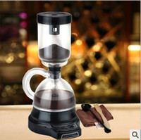 Wholesale Household electric siphon coffee maker automatic coffee machine espresso grinder brewed coffee