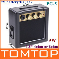 Wholesale Mini Electric Guitar Amp Amplifier PG W V I72 Free Drop Shipping