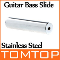 Wholesale Stainless Steel Chrome Tone Bar Bass Guitar Lap Slide I133 Freeshipping Dropshipping