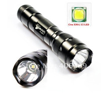 Wholesale 502B XML U2 Ultrafire WF B Cree XM L U2 Lumen Mode LED Flashlight