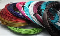 Wholesale MIC p Mixed Multi Color Steel Wire Cord Necklace Chain Jewelry quot L Jewelry DIY