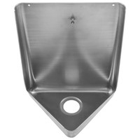 Wholesale U001 stainless steel urinal use in public area wall mounted urinal material sus