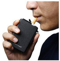 cigarette lighter case - Best Price Automatic Ejection Butane Lighter Pocket Cigarette Case Free Ship