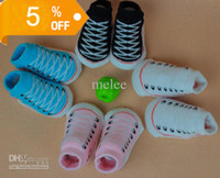 Wholesale Hot Trumpette Baby shoes socks coral fleece Shoe Socks Infant Newborn Spring thick warm Pc