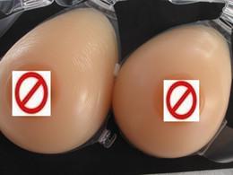 Wholesale Bra Style Teardrop Cross dress Silicone Silica Gel Breast Form Cosplay Breast Enlarger Enhancer Transgender Mastectomy Hypogenesis Enhancer