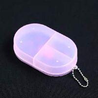 Cheap Medicine Organizer 3 Compartments Pill Box Tablet Case