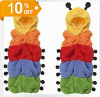 Wholesale children colorful baby sleeping bag caterpillar shape sleep bag dandys