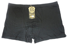 Wholesale Men bamboo fiber boxer shorts fashion underpants underwear XL XXL XXXL XXXXL Wholesales