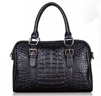 Wholesale Designer women Crocodile leather handbags Character Aslant bag big discounted