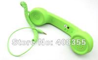 Wholesale pc Unique Retro Telephone Style Handset For iPhone iPad Headset