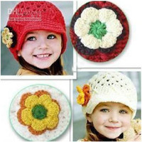 Boy Summer Newborn Hat Baby's hat bonnet style baby hat kid's crochet cap lovely infant's headwear free shipping