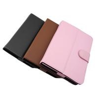 7'' ainol novo 7 aurora - Original inch Leather Case for Ainol novo elf ii aurora ii Tablet PC black brown blue pink co