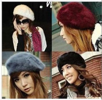Wholesale Fashion sexy mixed color women charm Berets BERET HAT CAP Carried away vogue beret hap Warm keeping