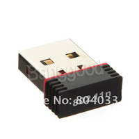 Wholesale 10pcs Mini Mbps USB WiFi Wireless Adapter M Network LAN Card ngb Free Drop shippin