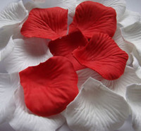 Wholesale MIC Red Silk Rose Petals Wedding Flowers Favors Decoration Jewelry DIY
