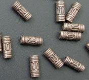 Wholesale 250 Antiqued Copper Wire Curved Spacer Tube Bead mmx3mmx8mm
