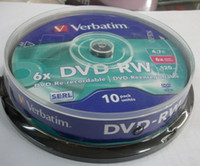 Wholesale Verbatim DVD r discs X DVD RW G DVD RW Re use Rewritable disc
