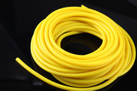 LION yellow  free shipping rubber band slingshot ,ITEM NO3263, latex tube , ten meters without joints,Pull rope