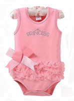 Wholesale Baby pajamas underwear cotton short sleeve triangle sleepwear cotton One Piece rompers NT