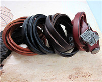 Wholesale twine bracelets bangles fashion unisex hemp leather bracelet wristband bangle Alloy tag Rivet J057