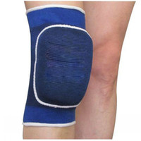 Wholesale New Climbing Protective Athletic Sports Drop Step Knit Ware Knee Sponge Padded