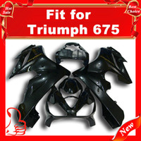 Wholesale EMS For Triumph Motorcycle Fairing Bodykit ABS Matt black
