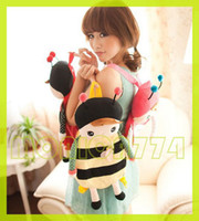 Wholesale Mixed styles Free Ship Lovely Baby Angela Doll backpack Children School bags Metoo bags