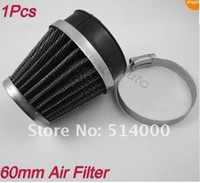 Wholesale 60mm New universal Air Filter For Motorcycle