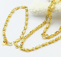 Wholesale jewelry K gold plated fashion flower chains necklace bracelet cm cm
