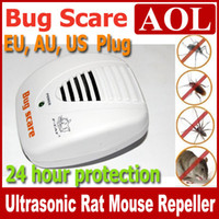 Mosquitoes  rat - Smart Bug Scare Ultrasonic Electrical Mouse Rat Pest Repeller Hour Protection