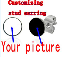 Wholesale Custom stud earring optional size body jewelry EPd56501