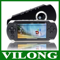 Cheap free shipping 4GB 4.3 Inch PMP Handheld Game Player MP3 MP4 MP5 Player Video FM Camera Portable Game