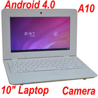 Wholesale 10 Inch VIA GB M Laptop Flash Camera Android