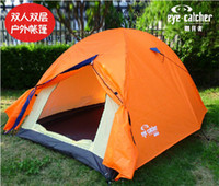 Wholesale top quality outdoor couple s double decked windproof waterproof Camping amp HikingTent bivouac tent