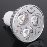 Wholesale High power CREE led bulb W x1W GU10 MR16 E27 E14 GU5 Led Lighting Lamps Spotlight led bulbs