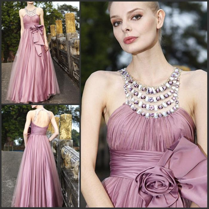 2013 Newest Popular Wedding Party Dresses Beads Rhinestone ...