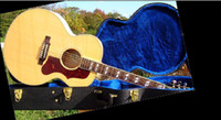 Wholesale best Montana J Jumbo Acoustic guitar Spruce Top Maple Back and Sides Ellipse Aura OEM Available